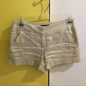 Express Gold Shorts